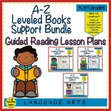 A-Z Books Support Bundle: Guided Reading Lesson Plans Sets 1 - 3  (Levels N-Z)