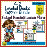 A-Z Books Support Bundle: Guided Reading Lesson Plans Sets A - C (Levels aa-M)