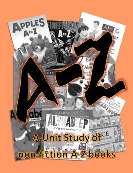A-Z Books Unit Plan