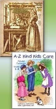A-Z Character Series 2-Book BUNDLE (NASB)