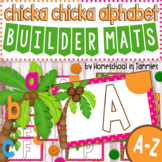 A-Z Chicka Chicka Alphabet Builder Mats