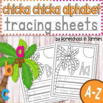 A-Z Chicka Chicka Alphabet Tracing Workbook