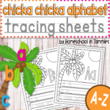 A-Z Chicka Chicka Alphabet Tracing Workbook