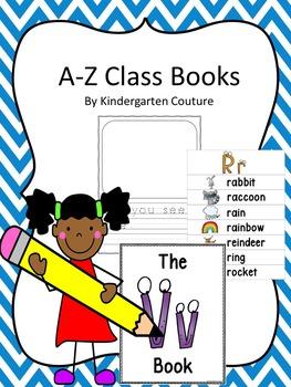A-Z Class Books Bundle