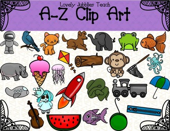 A-Z Clip Art