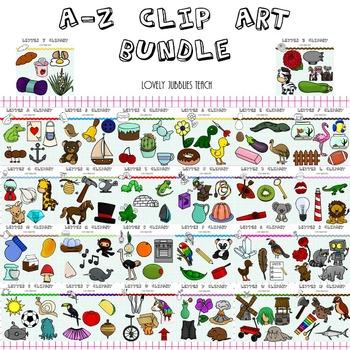A-Z Clip Art Bundle
