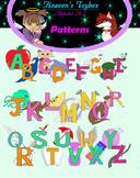 A-Z Clip Art Patterns