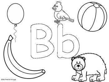 A-Z Coloring Pages {two pages for each letter}