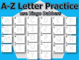 A-Z DOT LETTERS - UPPERCASE - BINGO DAUBERS - WRITE LETTER