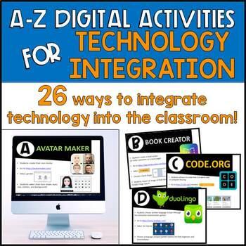 A-Z Digital Activities for Technology Integration
