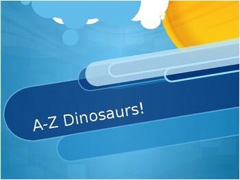 A-Z Dinosaur Book!