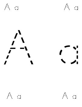 A-Z Dotted Letters