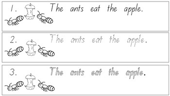 A-Z Early Reading Strips