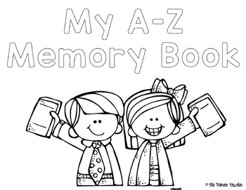 A-Z End Of The Year Memory Book