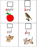 A-Z Fill in the blanks Letter Writing