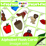 A-Z Flash Cards - Magical ABC - Image Only