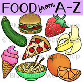 Alphabet Food Clip Art
