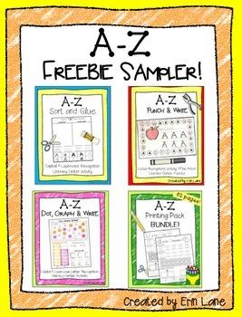 A-Z Freebie Sampler!