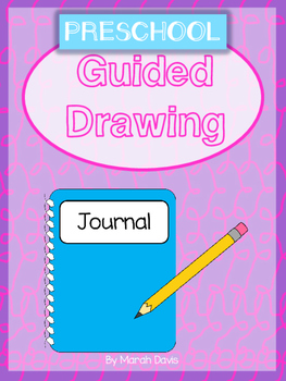 A-Z Guided Drawing - Interactive Notebook or Individual Activity - Preschool
