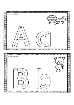 ESL A-Z Handwriting Mats
