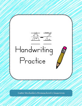 A-Z Handwriting Practice (Upper and Lowercase practice)