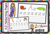 A-Z Handwriting Practise Sheets (Colour)