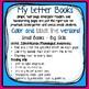 Letter Book Bundle for Alphabet Recognition, Letter Sounds,  Rhyming and More