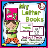 Letter Books for Alphabet Recognition Letter Sounds Rhyming and More