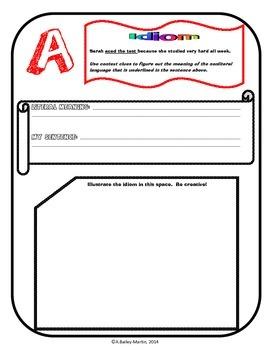A-Z Idioms Book