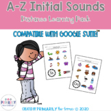 A-Z Initial Sounds Distance Learning Practice Packet