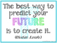 A-Z Inspirational Quote Posters - Bright Rainbow