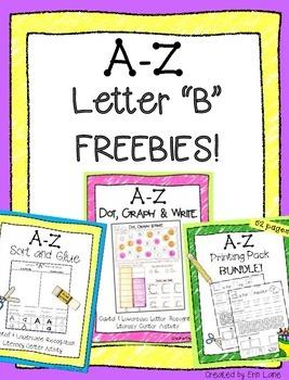 """A-Z Letter """"B"""" FREEBIES!"""