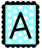 A-Z Letter Banners!