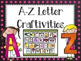 A-Z Letter Craftivities