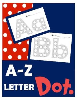 A-Z Letter Dot