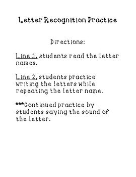 A-Z Letter Recognition