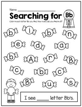 A-Z Letter Identification Search