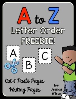 A-Z Letter Order FREEBIE