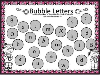 Alphabet Letter Popping Fun