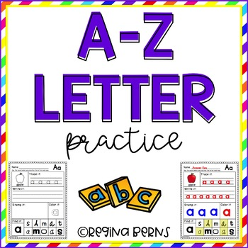 A-Z Letter Practice