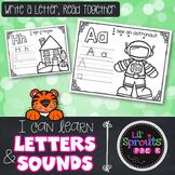 A-Z Letter Printables - Write A Letter, Read Together - PreK, Kindergarten