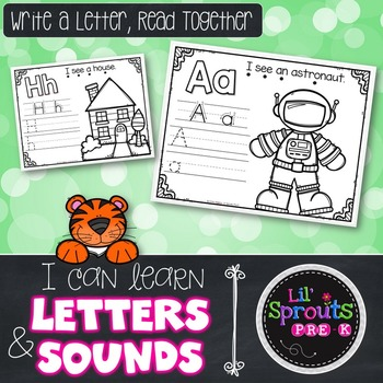 A-Z Letter Printables - Write A Letter, Read Together - Pr
