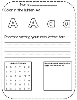 A-Z Letter Review