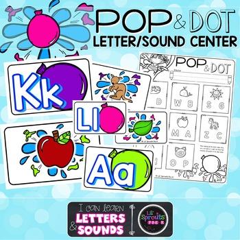 A-Z Letter-Sound Center with Printables - PreK, Kindergart