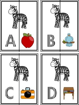 A - Z Letter/Sound Matching Puzzles and Numbers 1-20