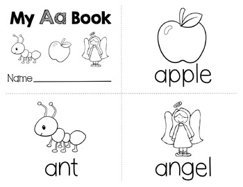 A-Z Letter Worksheets (Set 1)