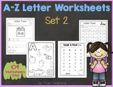 A-Z Letter Worksheets (Set 2)