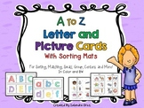 A-Z Letter and Picture Cards