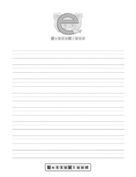 Letterland Pages Worksheets Teaching Resources Tpt