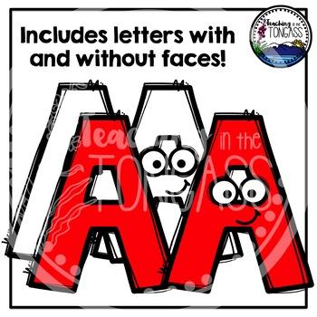 A-Z Letters Clipart (Alphabet Clipart)